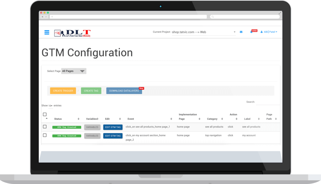 Data Layer Automation Tool - Service Offerings