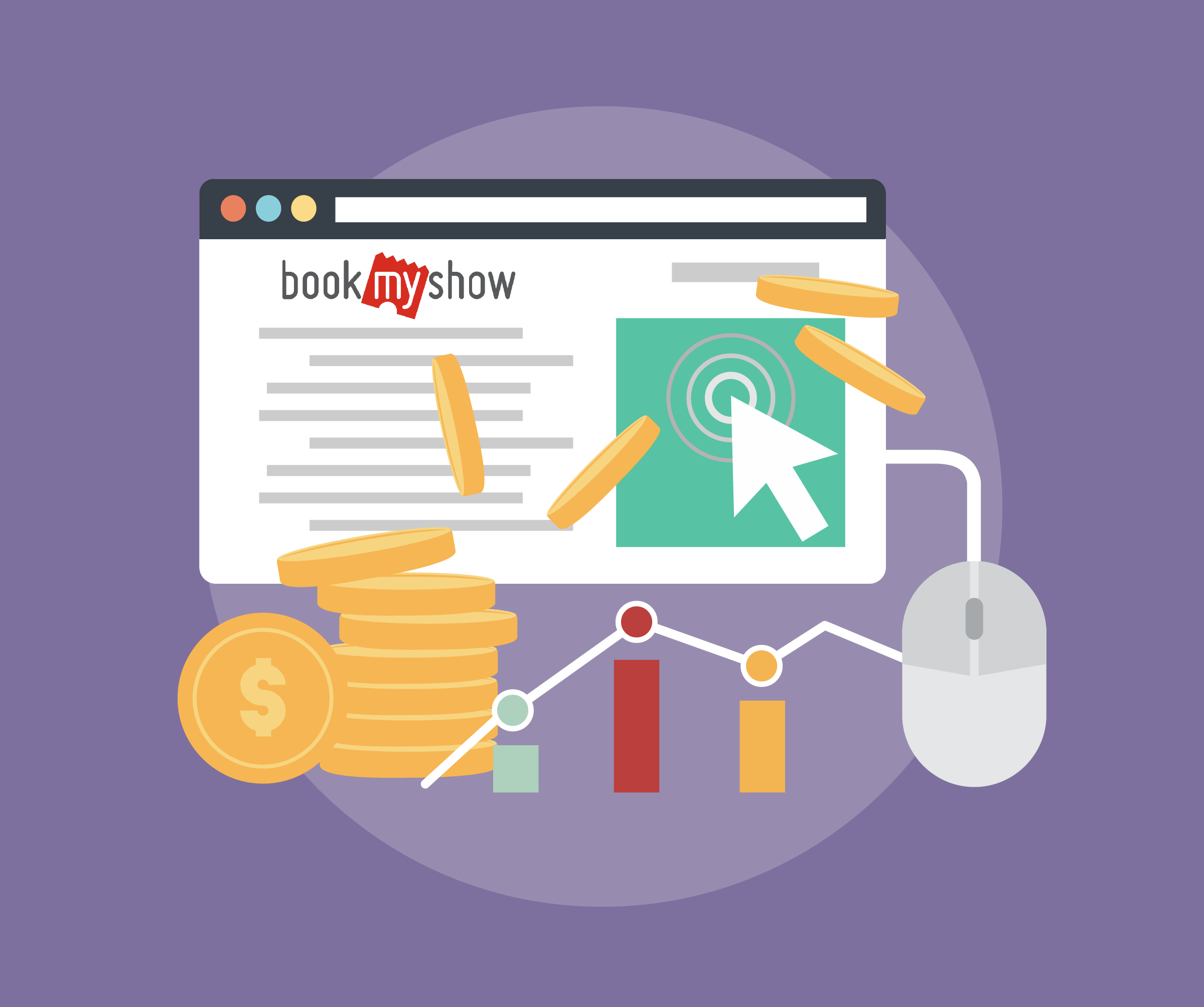 BookMyShow Increased their Click Through Rate Tatvic